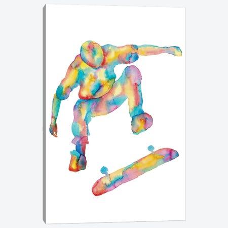 Skateboard Art Canvas Print #MSG101} by Maryna Salagub Canvas Art Print