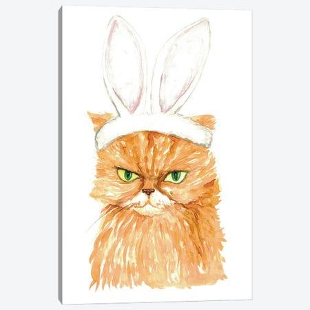 Bunny Cat Canvas Print #MSG11} by Maryna Salagub Canvas Art Print