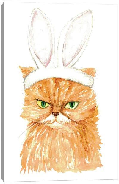 Bunny Cat Canvas Art Print