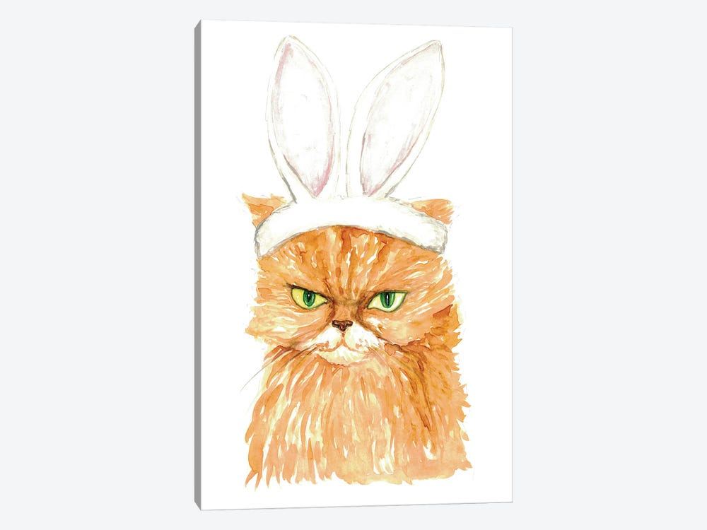 Bunny Cat by Maryna Salagub 1-piece Canvas Artwork
