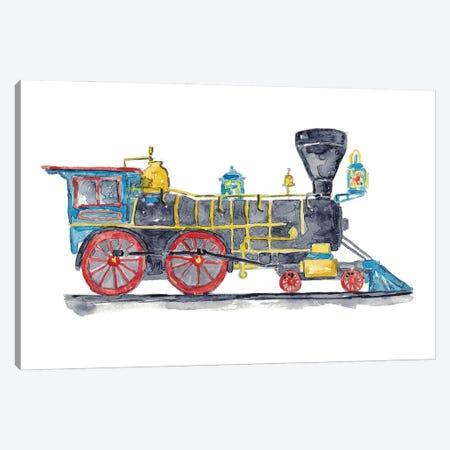 Vehicle Train Canvas Print #MSG126} by Maryna Salagub Canvas Wall Art