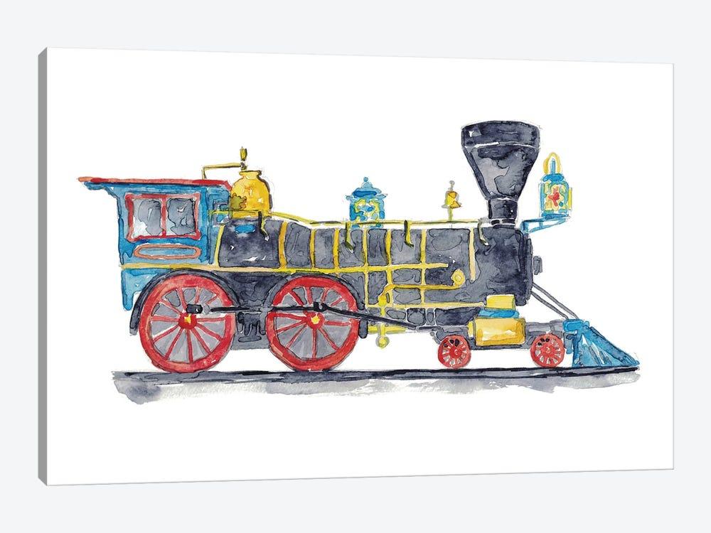 Vehicle Train by Maryna Salagub 1-piece Canvas Art Print