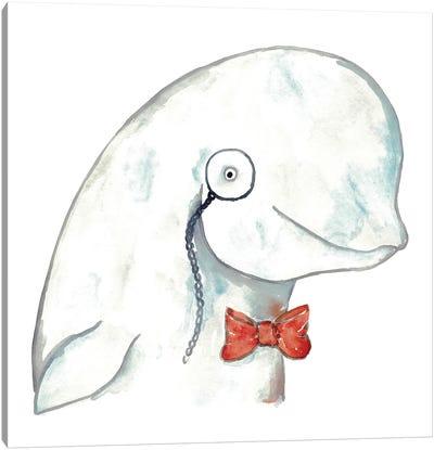 Beluga Whale Canvas Art Print