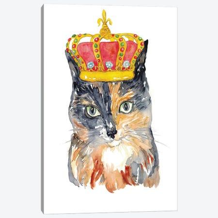 Cat Crown Canvas Print #MSG18} by Maryna Salagub Canvas Print