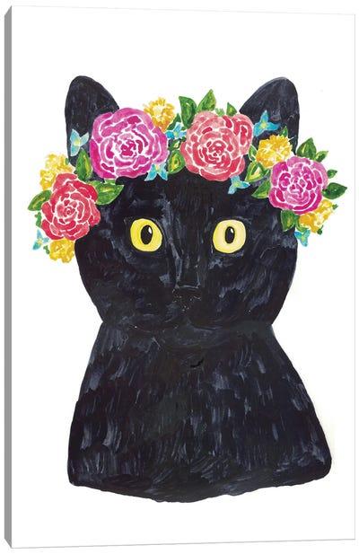 Cat Frida Canvas Art Print