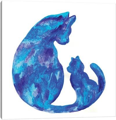 Cat Mama Canvas Art Print