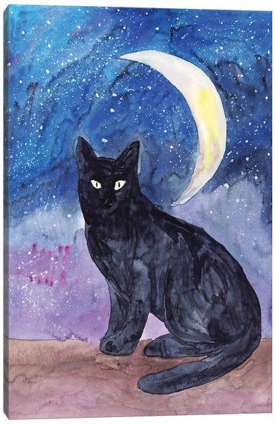 Cat Sky Canvas Art Print