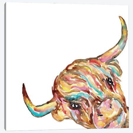 Mountain Cow Art Canvas Print #MSG49} by Maryna Salagub Canvas Wall Art