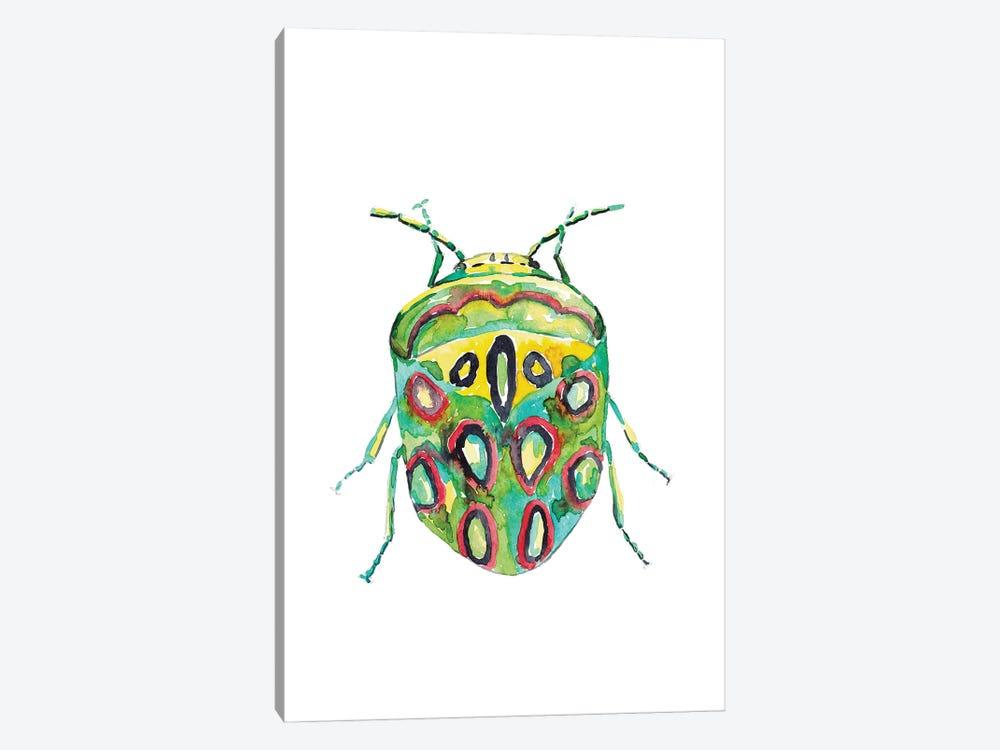 Colorful Beetle by Maryna Salagub 1-piece Canvas Wall Art