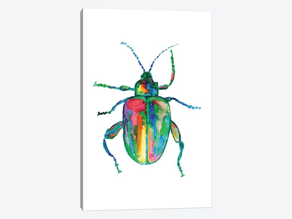 Colorful Beetle Art by Maryna Salagub 1-piece Canvas Art Print