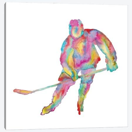 Hockey Canvas Print #MSG72} by Maryna Salagub Canvas Art Print