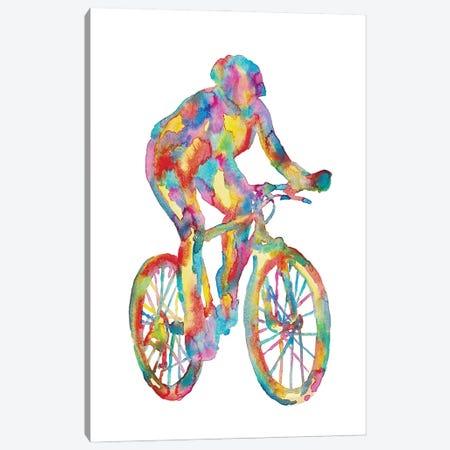 Bicycle Art Canvas Print #MSG83} by Maryna Salagub Canvas Wall Art