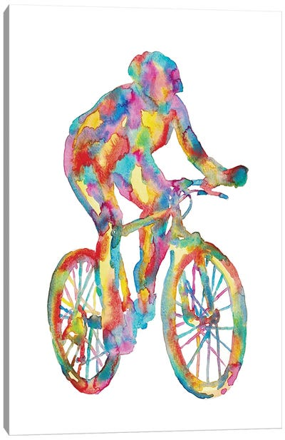Bicycle Art Canvas Art Print