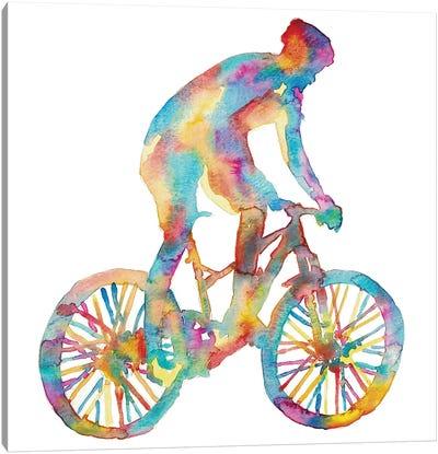 Bicycle Artwork Canvas Art Print