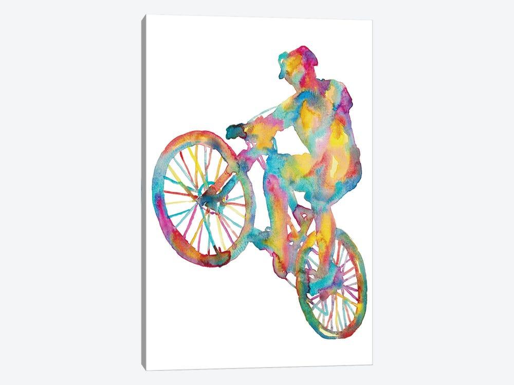 Bicycle by Maryna Salagub 1-piece Canvas Art Print