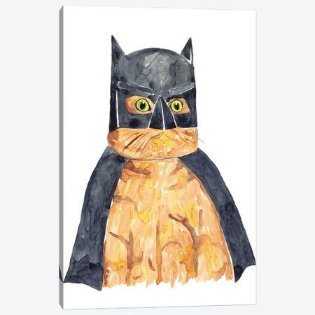 Bat Cat Canvas Print #MSG8} by Maryna Salagub Canvas Art