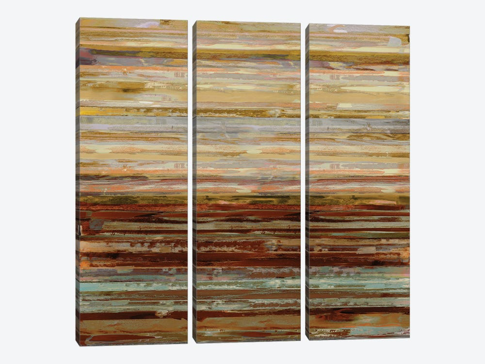 Strata II by Matt Shields 3-piece Canvas Artwork
