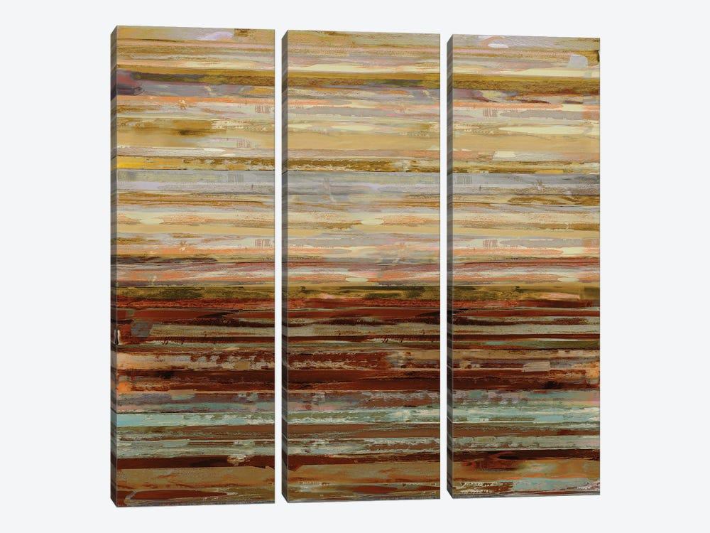 Strata II by Matt Shields 3-piece Canvas Artwork