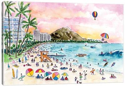 Hawaii Canvas Art Print