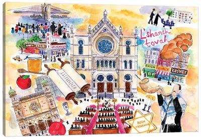 Rosh Hashanah Canvas Art Print