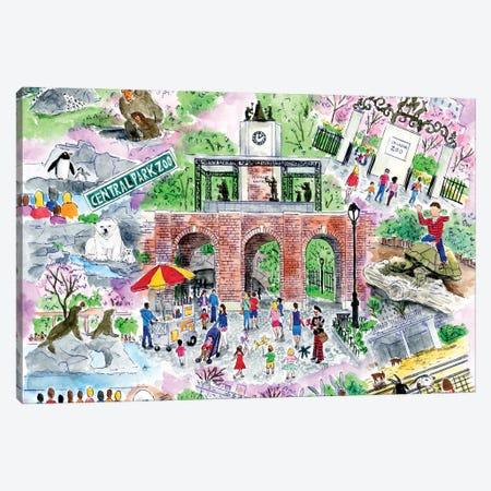 Zoo Canvas Print #MSI88} by Michael Storrings Canvas Art