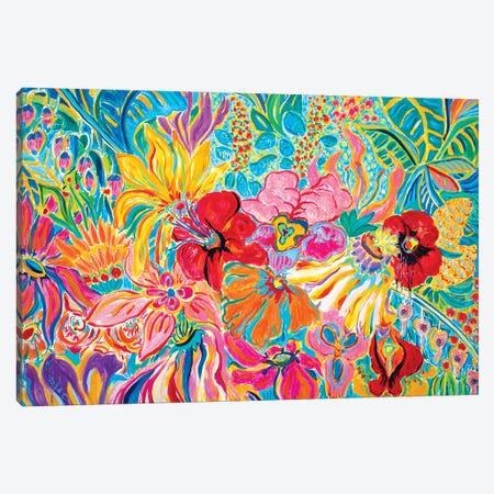 Fragrant Garden IV Canvas Print #MSK104} by Misako Chida Canvas Art