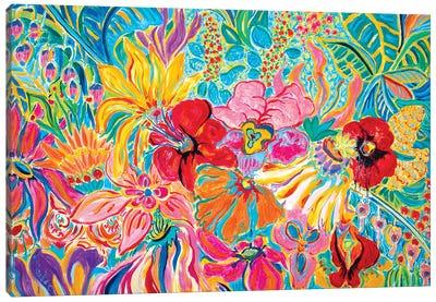 Fragrant Garden IV Canvas Art Print