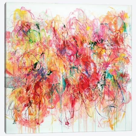 Dance With Joy Canvas Print #MSK108} by Misako Chida Art Print