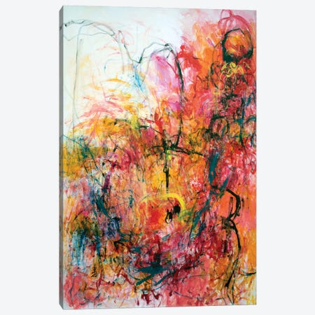 Enchantment Of Love Canvas Print #MSK110} by Misako Chida Canvas Wall Art