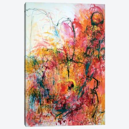 Enchantment Of Love Canvas Print #MSK110} by Misako Chida Canvas Wall Art