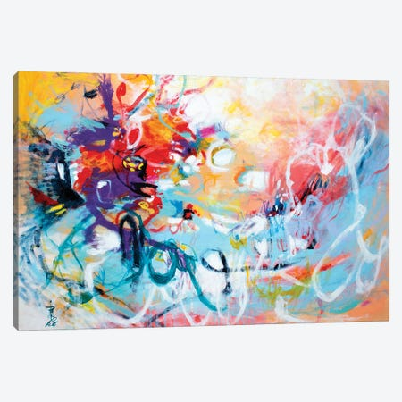 Fly West Canvas Print #MSK113} by Misako Chida Canvas Artwork