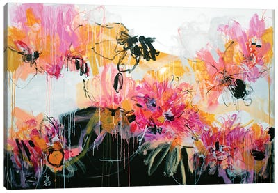 Floral Prelude I Canvas Art Print