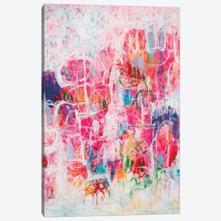 Let's Build An Igloo Canvas Print #MSK121} by Misako Chida Canvas Art Print