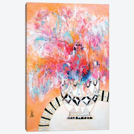 Quiet Love Canvas Print #MSK124} by Misako Chida Canvas Art