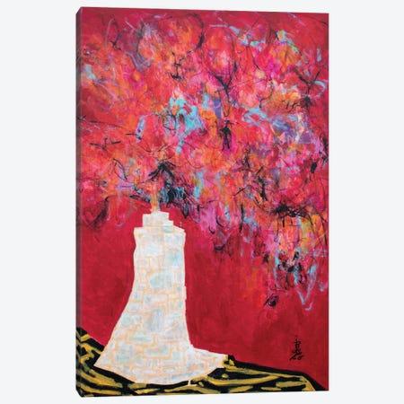 Velvety Warmth Canvas Print #MSK130} by Misako Chida Canvas Art