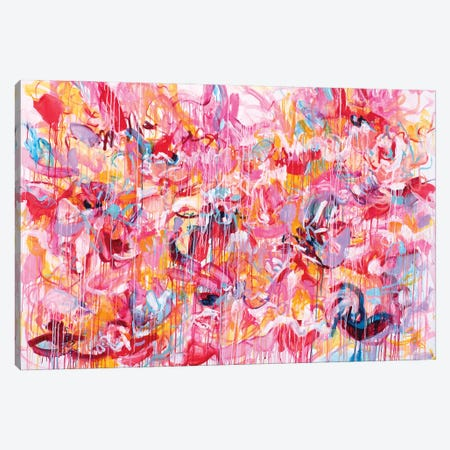 Love Love Love Canvas Print #MSK138} by Misako Chida Canvas Wall Art