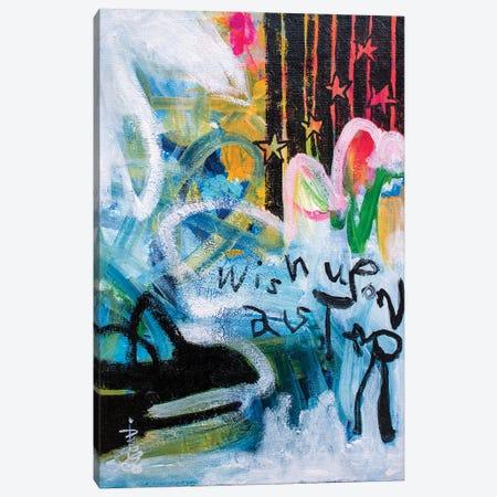 Wish Upon A Star Canvas Print #MSK143} by Misako Chida Canvas Print