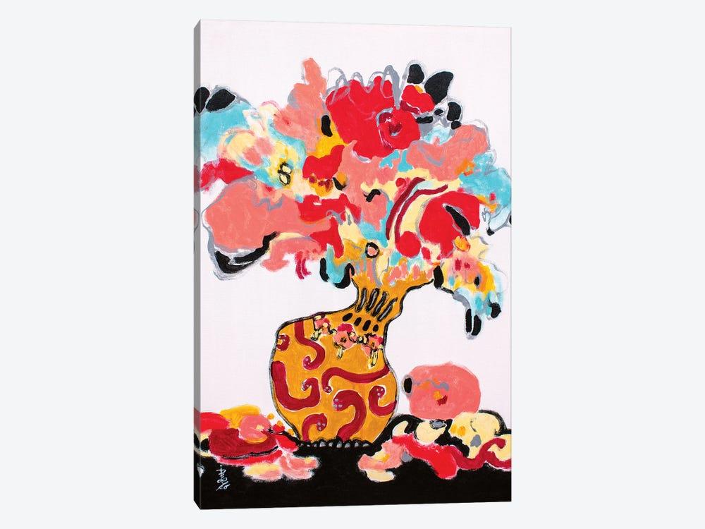 Dancing Nobly by Misako Chida 1-piece Canvas Artwork