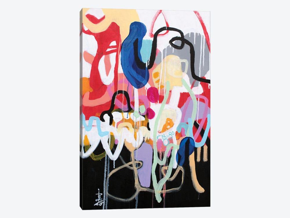 Dig, Dig, Dig by Misako Chida 1-piece Canvas Print