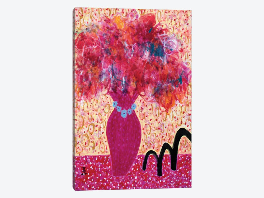 Flowers For Barbamama by Misako Chida 1-piece Canvas Art