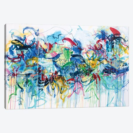 Spring Breeze Canvas Print #MSK152} by Misako Chida Canvas Artwork