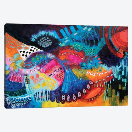 Masquerade Canvas Print #MSK16} by Misako Chida Canvas Wall Art