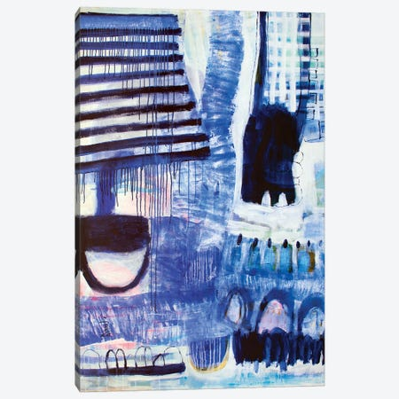 Over The Weekend Canvas Print #MSK21} by Misako Chida Canvas Artwork
