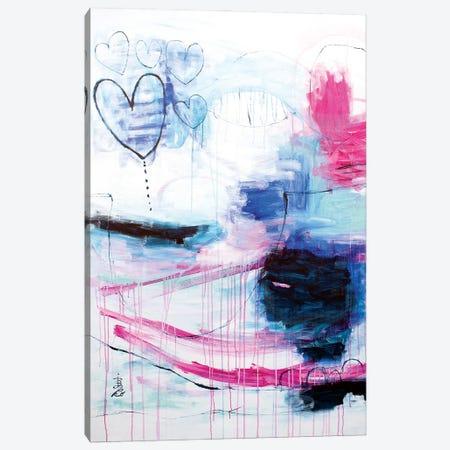 Summer Love Canvas Print #MSK25} by Misako Chida Art Print