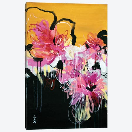 Wildflower Wishes V Canvas Print #MSK43} by Misako Chida Canvas Wall Art