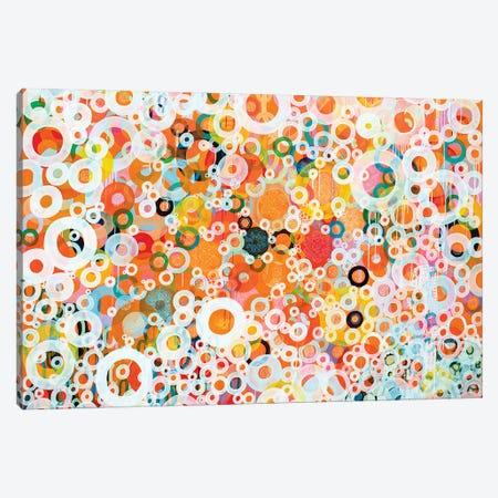 Dots And Circles XI Canvas Print #MSK4} by Misako Chida Canvas Print