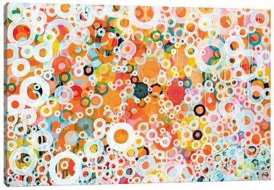 Dots And Circles XI Canvas Art Print