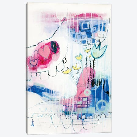 Optimistic Day Canvas Print #MSK51} by Misako Chida Art Print