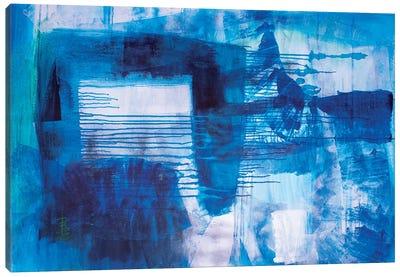 Blue Nostalgia Canvas Art Print