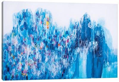 Climbing On The Top Canvas Art Print